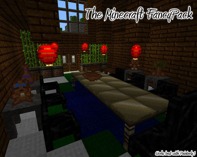 Minecraft Furniture Mod Fancypack Surviving Minecraft Minecraft Adventures