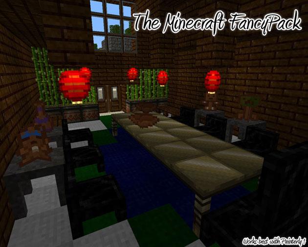 Minecraft Furniture Mod FancyPack