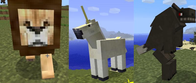 Mo'creatures, extra animals minecraft mod