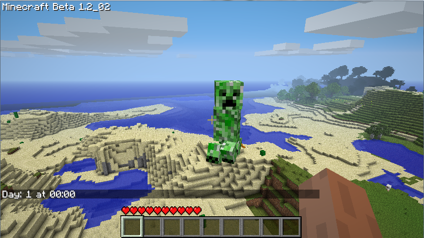 Destruction in Minecraft
