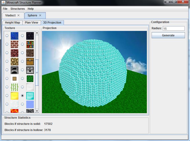 How To Build Minecraft Spheres Minecraft Structure