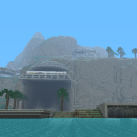 Mr Tea99's Tracy Island, Thunderbirds Minecraft Save File Download