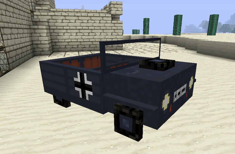 Minecraft Car Mod