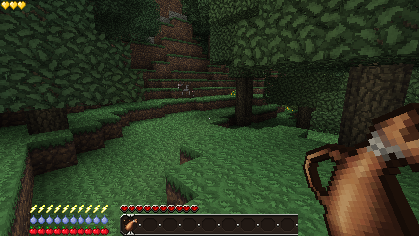 Minecraft Survivalism Mod, Hunger, Thirst and More…