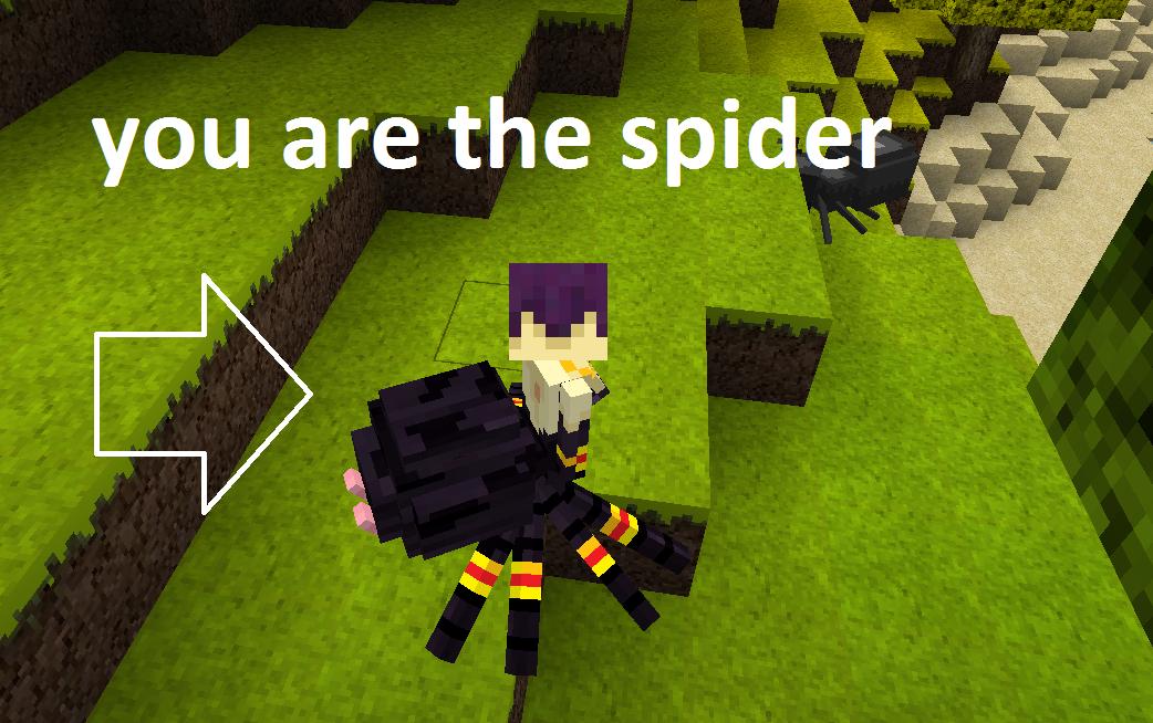 Minecraft spider queen mod