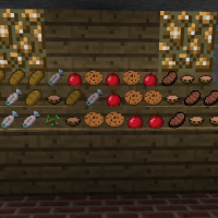 Minecraft Shelves, Shelf Mod for Minecraft