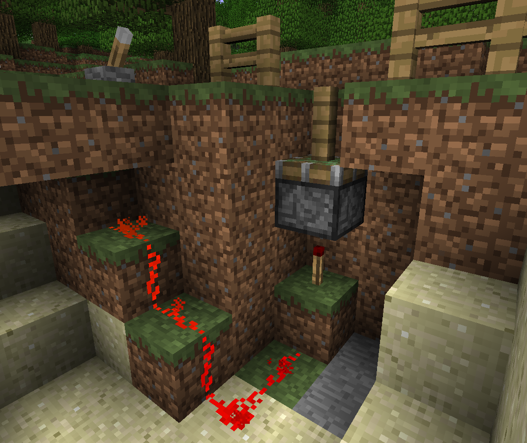 How To Make A Powered Minecraft Piston Gate Surviving