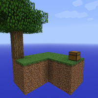 SkyBlock Minecraft Survival Island Map (Download + Review)