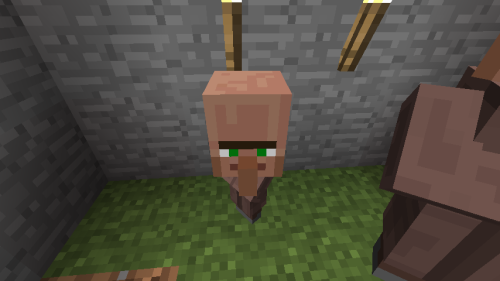 how to find a zombie villager in minecraft pe