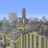 Mineton, Download A Pre-Built Minecraft City