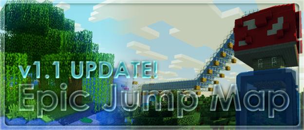 Epic Jump Map Minecraft Parkour Map Download Surviving Minecraft
