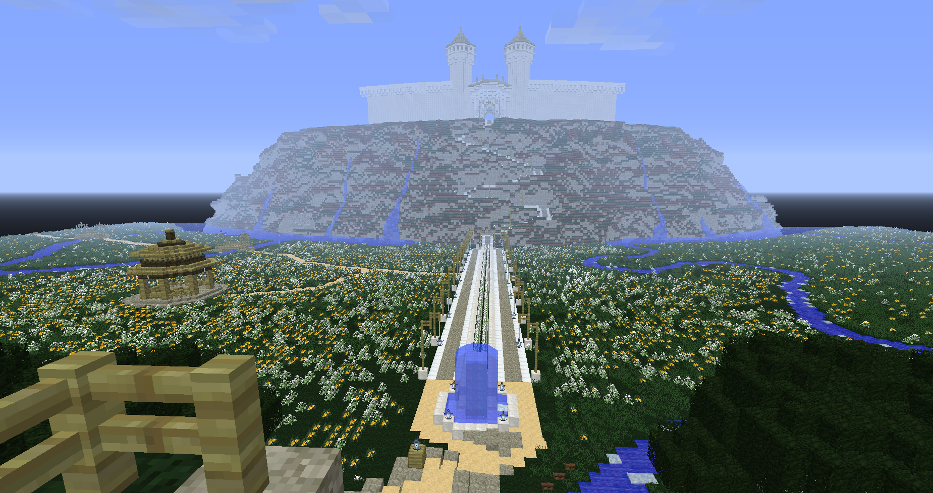 The Fall of Gondolin LOTR AdventureSurvival Minecraft Map