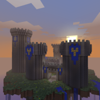 Faraway Avalon Sky Island Minecraft Survival Map Download