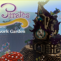 Pastry Pirates, A Clockwork Garden Minecraft Adventure Map Download