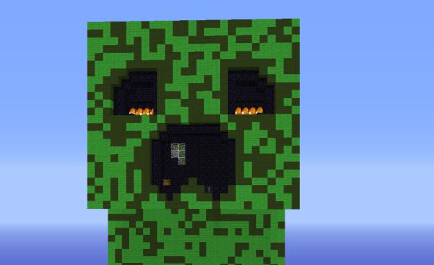 Minecraft Island Puzzle Map