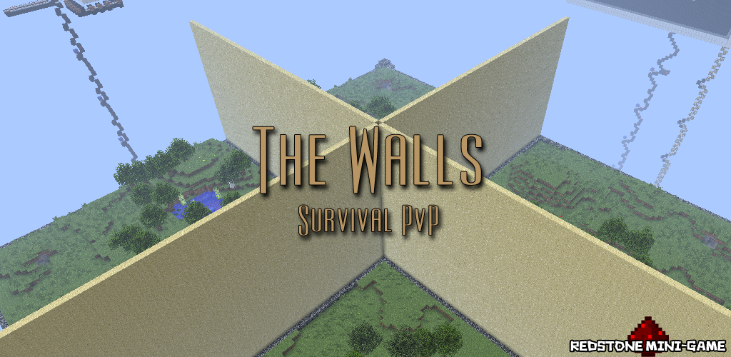 The Walls, Minecraft PvP Survival Map Download | Surviving Minecraft ...