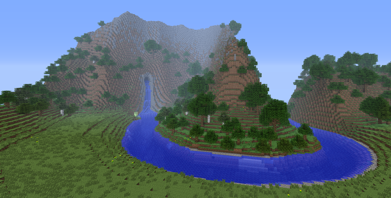 Minecraft Islands Map