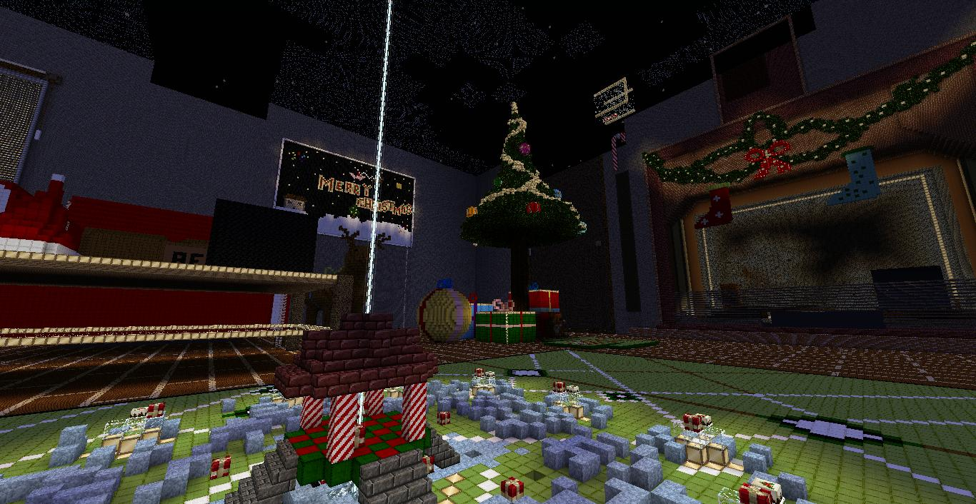 Christmas Carnage Minecraft Multiplayer PvP Map Download Review