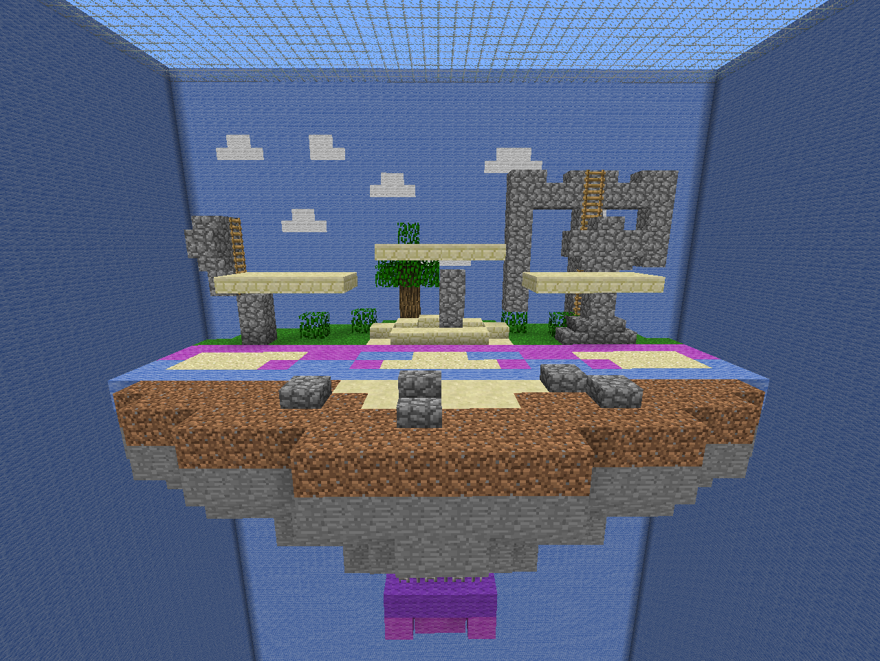 Super smash bros minecraft multiplayer pvp map download