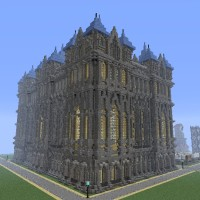Featured Build: Minecraft Medieval Building