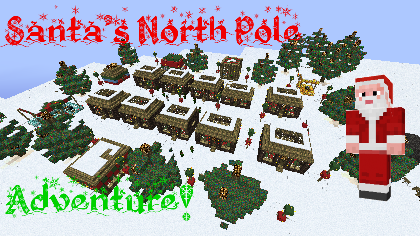 Minecraft Christmas Adventure Map Downloads | Surviving Minecraft ...