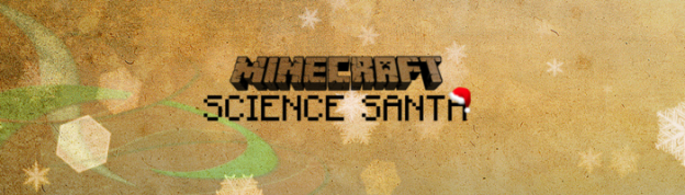 minecraft science santa christmas adventure map