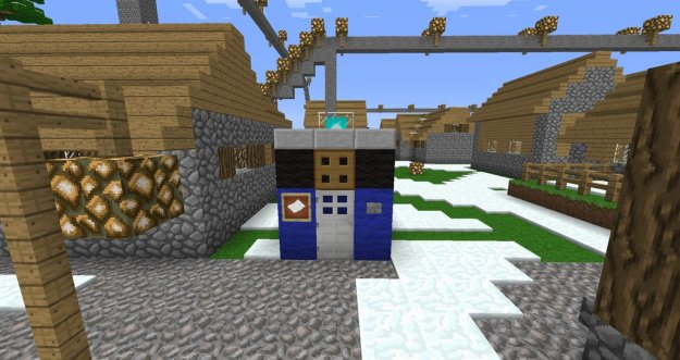 welcome to the minecraft tardis, doctor