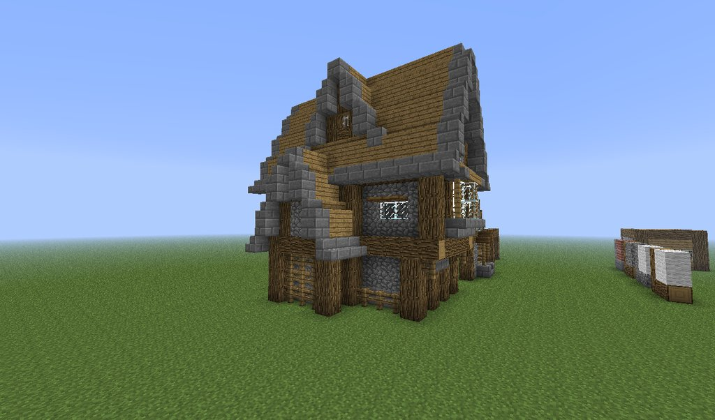 How to build good looking minecraft houses detailed for Best looking houses