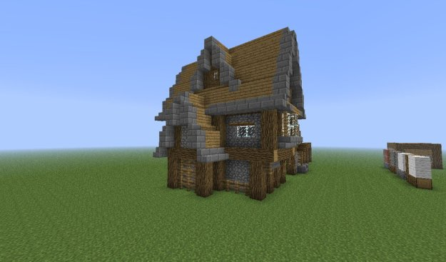 how to build nice minecraft houses