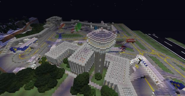 minecraft airport map download