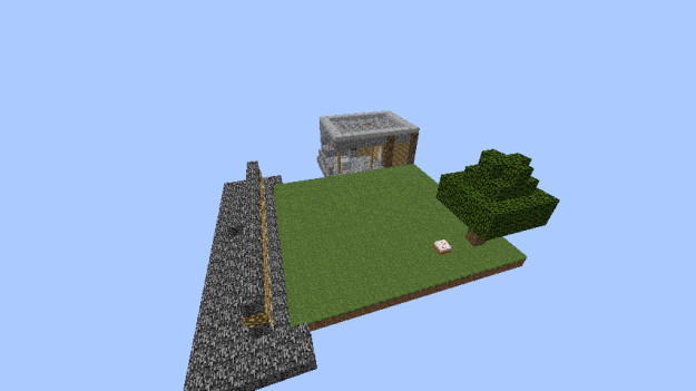 minecraft sky flat survival map download