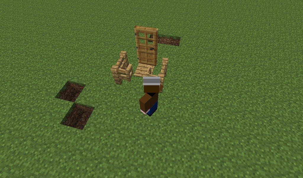 How to build zombie proof doors surviving minecraft for Zombie build