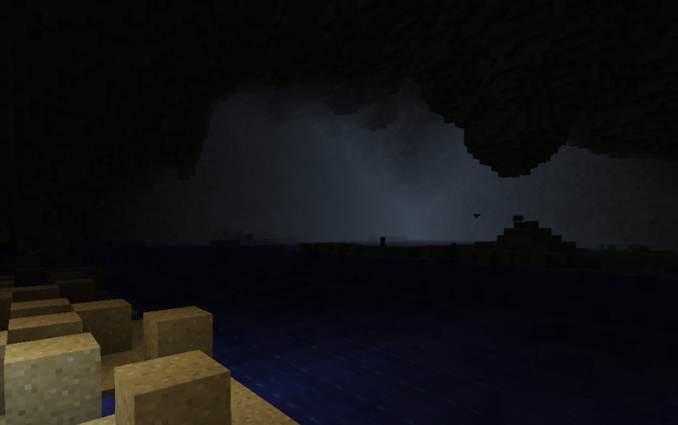 the broken beach of cathartic minecraft experiences