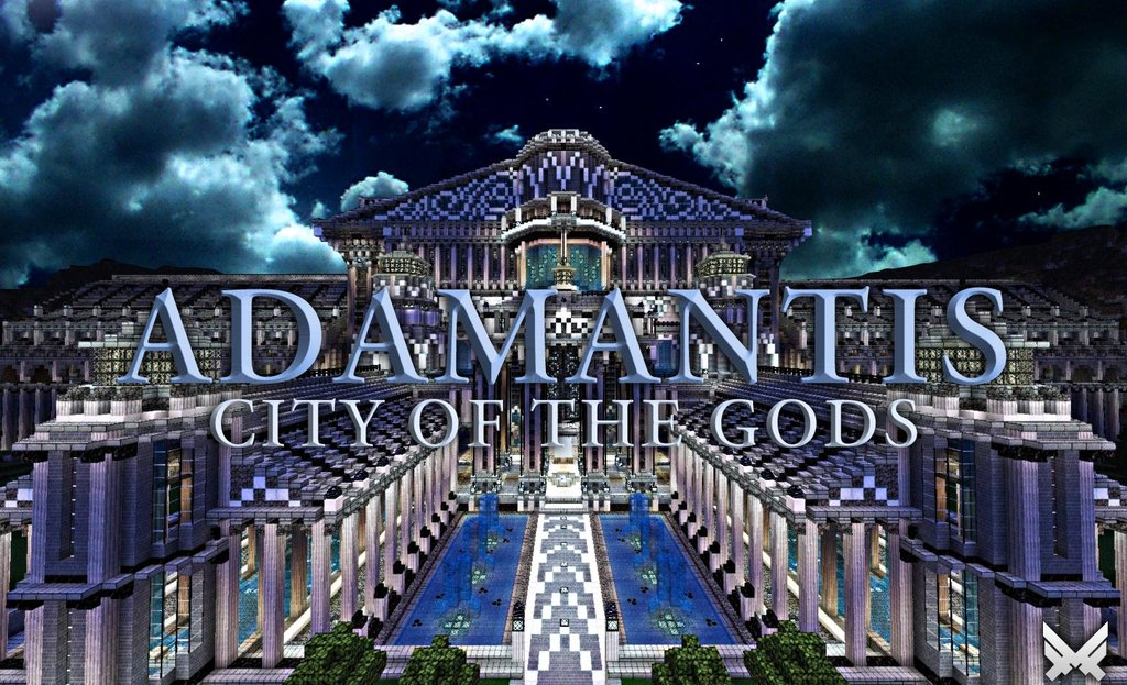 Minecraft greek fantasy city world download review surviving adamantis minecraft fantasy city map download gumiabroncs Image collections