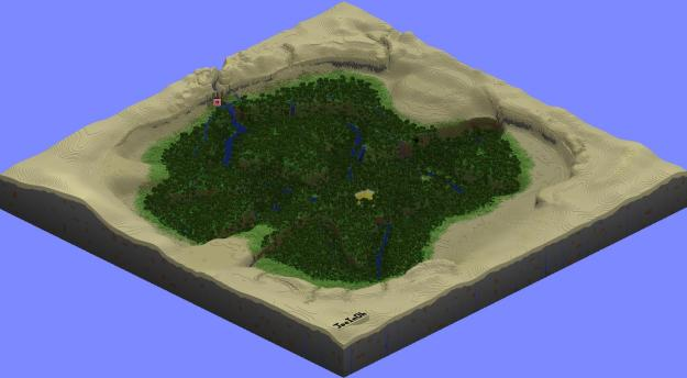 minecraft oasis map download