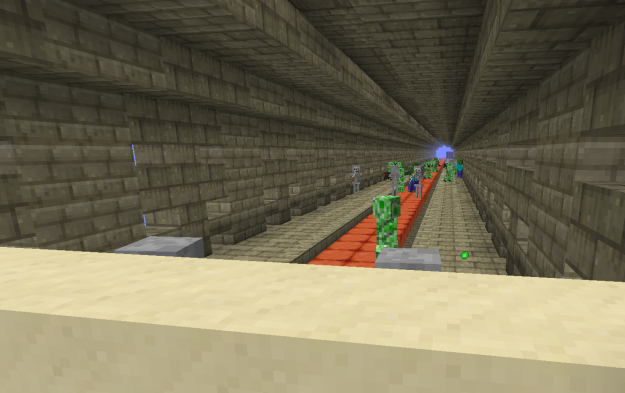 minecraft trouble tunnel minecraft survival map download