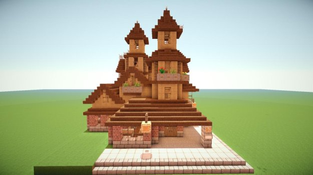 minecraft victorian building download