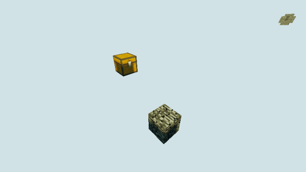 one block minecraft sky survival map download