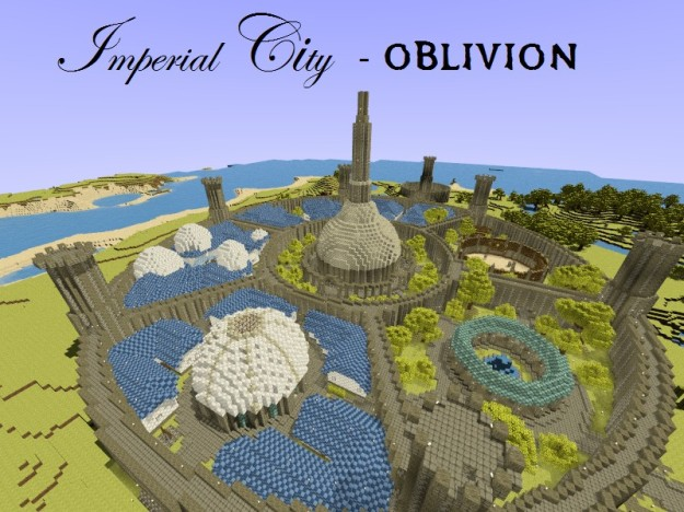 minecraft oblivion map download