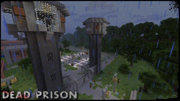 minecraft prison tower adventure map