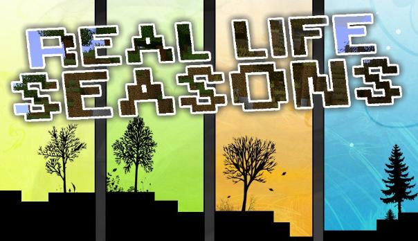 minecraft real life seasons mod download