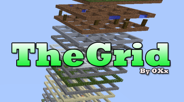 minecraft the grid survival map download