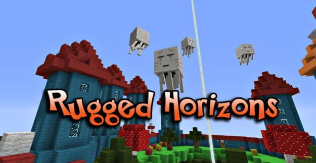 rugged horizons minecraft sky world ctm survival map
