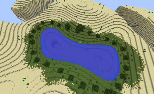 The Barren, Giant Minecraft Desert Survival Map Download