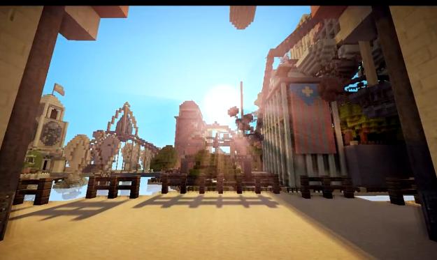 minecraft bioshock infinite map download