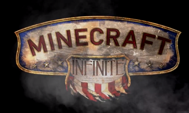 minecraft bioshock infinite