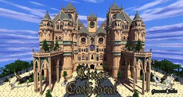 minecraft cathedral download
