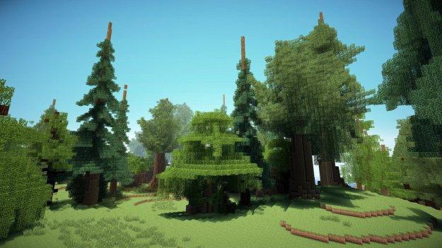 minecraft fantasy trees download