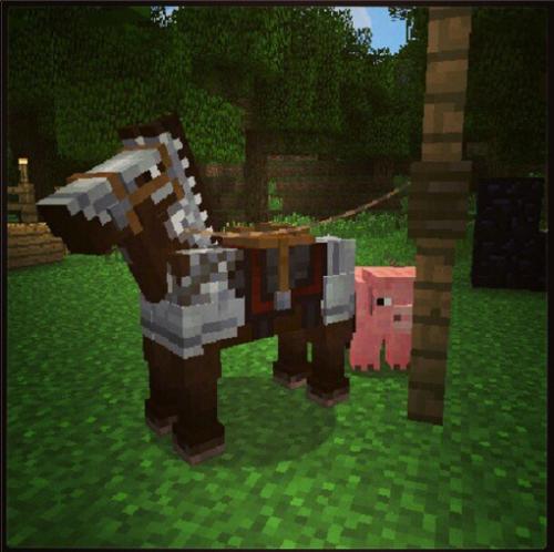 minecraft horse armor