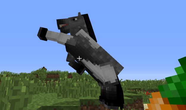 how to take a saddle off a horse in minecraft